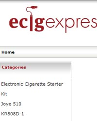 EcigExpress e-liquid store