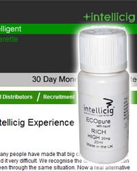 Intellicig e-liquid store
