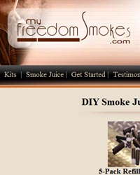 My Freedom Smokes e-liquid store