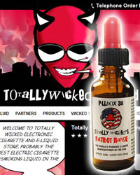 Totally Wicked USA e-liquid store