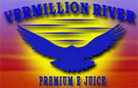 Vermillion River ejuice logo