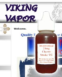 Viking Vapor e-liquid store