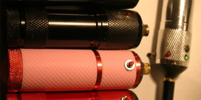 Detonator e-cig battery tube mod