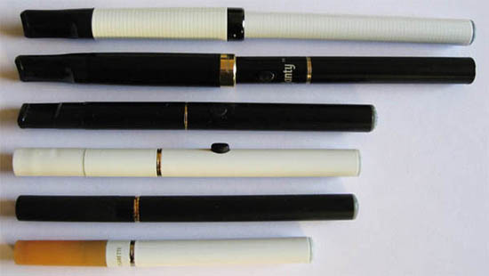 Common electronic cigarette models